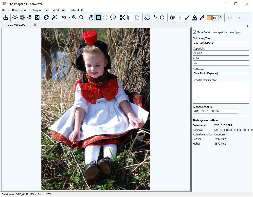 Photo Explorer Bildbearbeitung-/ImageEdit
