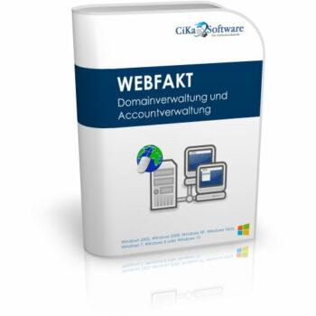 WEBFAKT Domain- u. Accountverwaltung